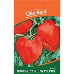 Семена томата бычье сердце красное (Смачний)