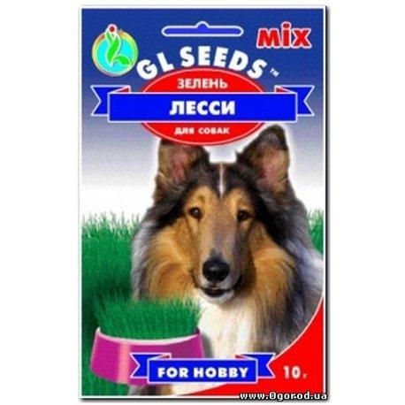 Семена зелени для щенков Лесси