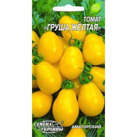 Насіння томату Груша жовта