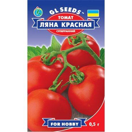 Насіння томату Ляна червона (суперранній)
